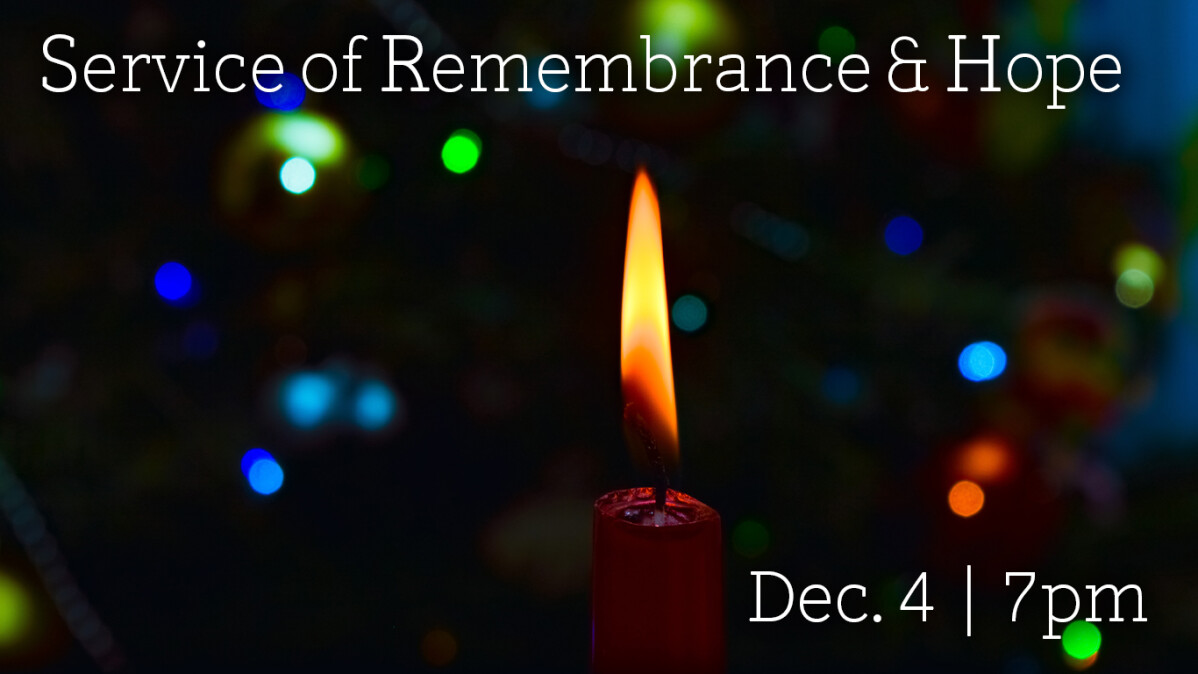 Service of Remembrance & Hope
