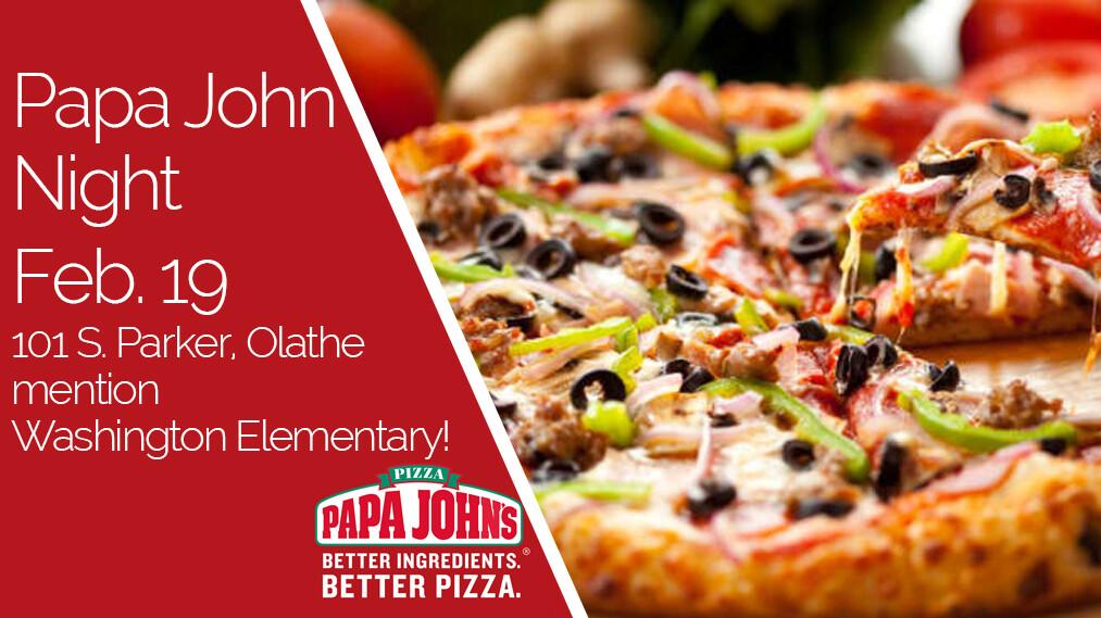 Papa John's Night